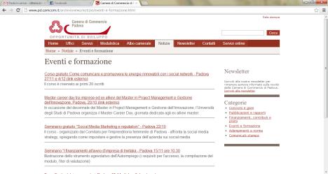 2012 10 12 A CCIAA Padova home