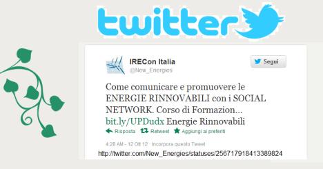 2102 12 12 IRECcon Italia twitter